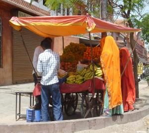 Fruit Stall In Jaipur